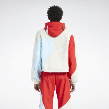 Classics Red Reebok by Pyer Moss Windbreaker