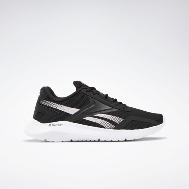 Women Running Black Reebok Energylux 2 Women's Running Shoes