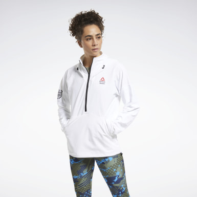 Kvinder Cross Training White CrossFit® Control Hoodie