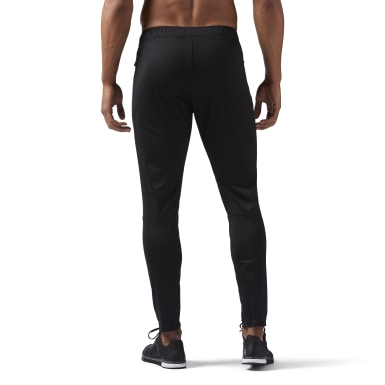 Men Training Black Speedwick Knit Track Pants