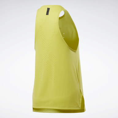 Canotta United By Fitness Perforated Giallo Donna Ciclismo