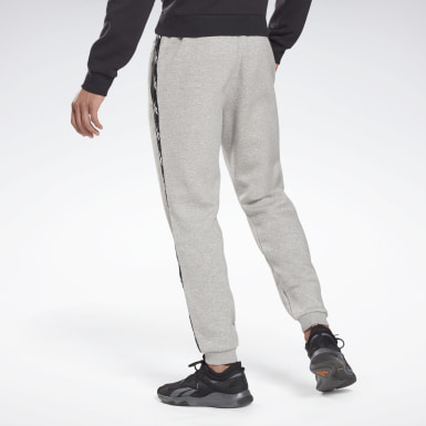 Men Fitness & Training Grey Training Essentials Tape Jogger Pants
