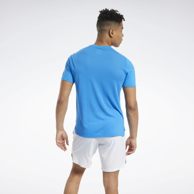 T-shirt imprimé Workout Ready Supremium Bleu Hommes HIIT