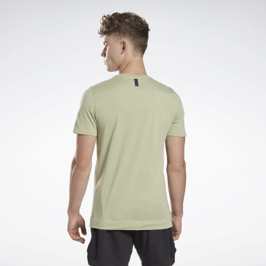 Men Yoga Grey LES MILLS® Pocket T-Shirt