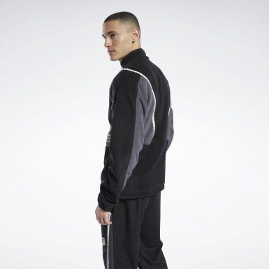 Men Classics Black Classics Winter Escape Track Jacket
