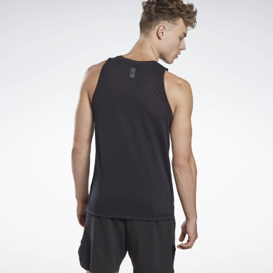 Men Studio Black LES MILLS® Supremium Tank Top