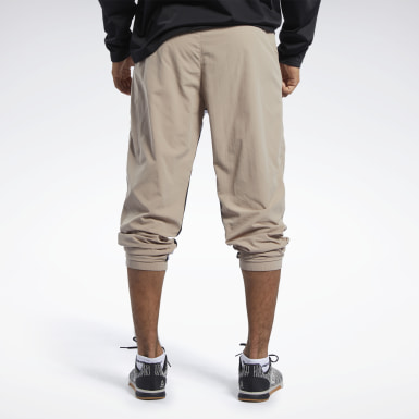 Pants Meet You There 7/8 Beige Hombre Running