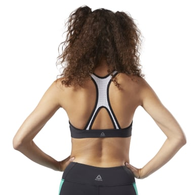 Women Training Green Hero Racer Padded Bra