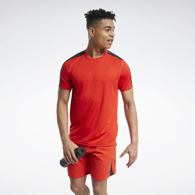 T-shirt technique Workout Ready Rouge Hommes Cyclisme