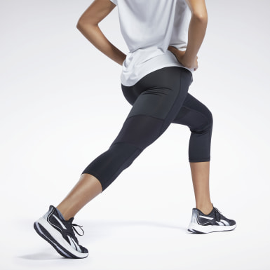 Legging 3/4 One Series Running ACTIVCHILL Black Femmes Course