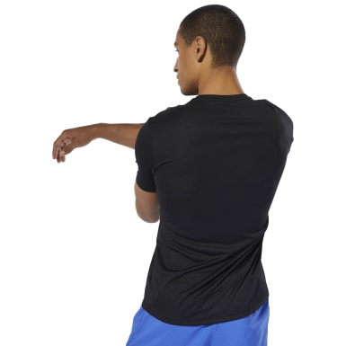 Remera Short Sleeve Negro Hombre Running
