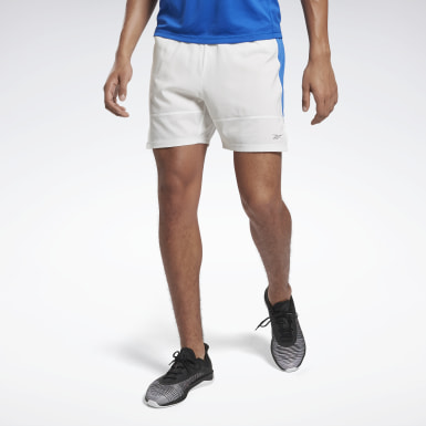 Short Running Essentials Bianco Uomo Trail Running