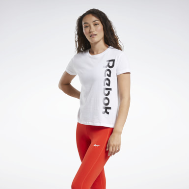 T-shirt Training Essentials Graphic Bianco Donna Dance