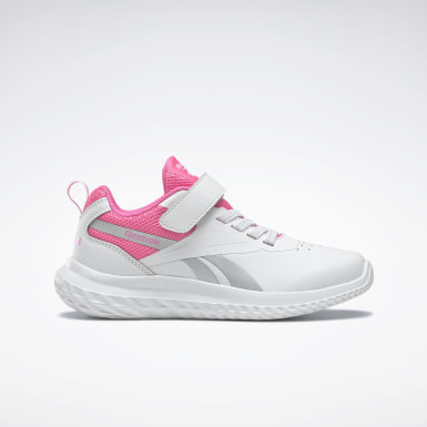 Girls City Outdoor White Reebok Rush Runner 3 Shoes