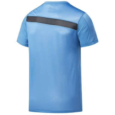 Men Training Blue Workout Ready Tech Tee