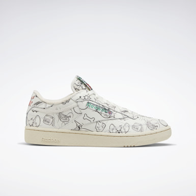 Chaussure Tom and Jerry Club C 85 Blanc Classics