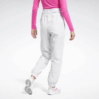 Women Fitness & Training White MYT Pants