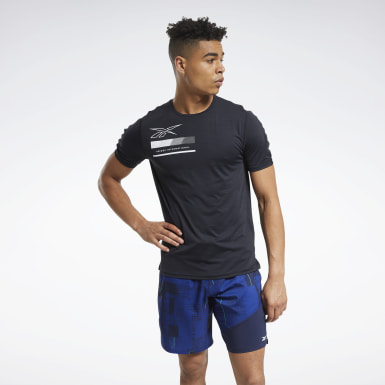 Men Fitness & Training Black ACTIVCHILL Graphic Move Tee
