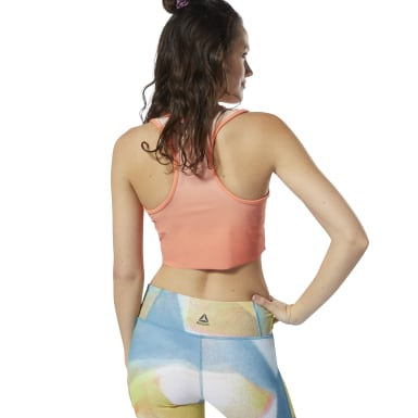 Crop top Yoga Ombre