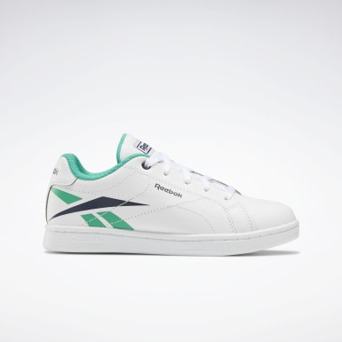 Boys Classics White Reebok Royal Complete CLN Shoes