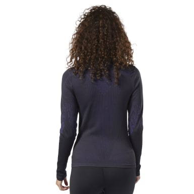 Women Training Black Thermowarm Base Layer Top
