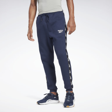 Men Fitness & Training Blue Training Essentials Tape Jogger Pants