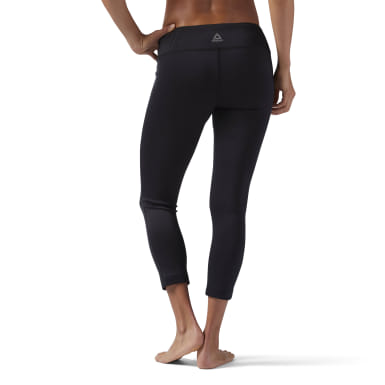 Women Training Black Workout Ready 7/8 Leggings