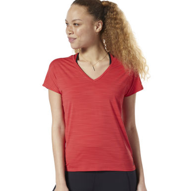 Women Fitness & Training Red ACTIVCHILL Tee