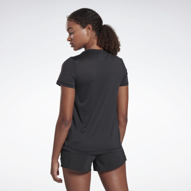 Women Trail Running Black Run ACTIVCHILL Tee