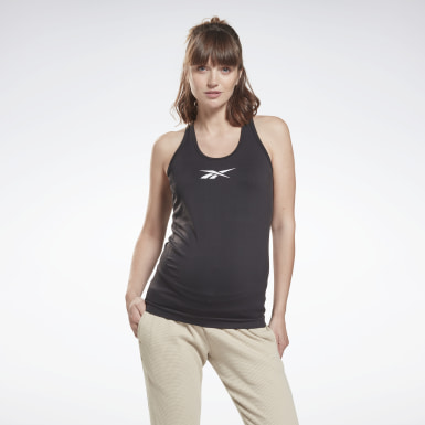 Women Studio Black Studio Maternity Tank Top