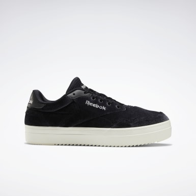 Dames Classics Zwart Reebok Royal Techque Vulcanized Schoenen