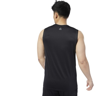 Men Studio White LES MILLS® SmartVent Tank Top