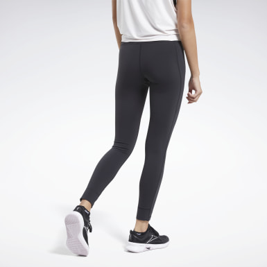 Women Cycling Black Reebok Lux 2 Tights