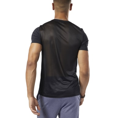 Remera estampada Workout Ready ACTIVCHILL Negro Hombre Fitness & Training