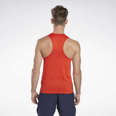 Men Studio Red LES MILLS® BODYPUMP® ACTIVCHILL Singlet