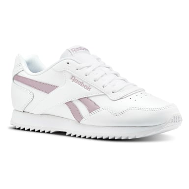 Women Classics White Reebok Royal Glide Ripple