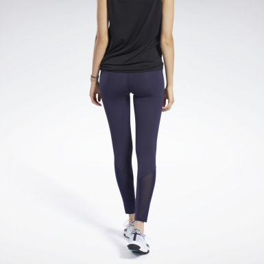 Dames Wandelsport Paars Reebok Lux Perform Legging