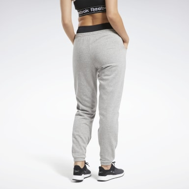 Women Training Grey Training Essentials Fleece Pants