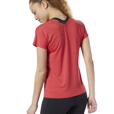 T-shirt ACTIVCHILL Rouge Femmes Fitness & Training
