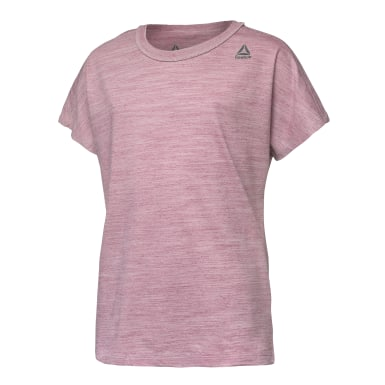 Girls Training Essentials Marble Melange T-Shirt
