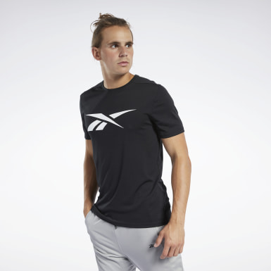 Men Yoga Black Workout Ready Tee