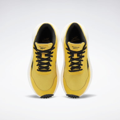 Women Running Yellow Reebok Metreon Shoes