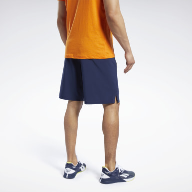 Men Fitness & Training Blue Speedwick Speed Shorts