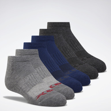 Boys Training Low-Cut Basic Socks Six Pack