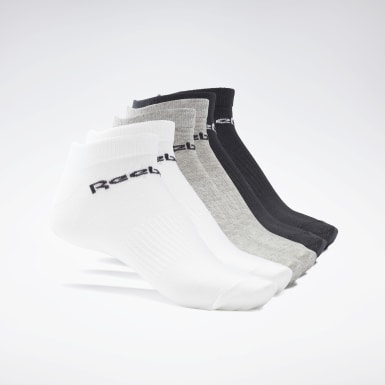 Calcetines de corte bajo Active Core - 6 pares Gris Fitness & Training
