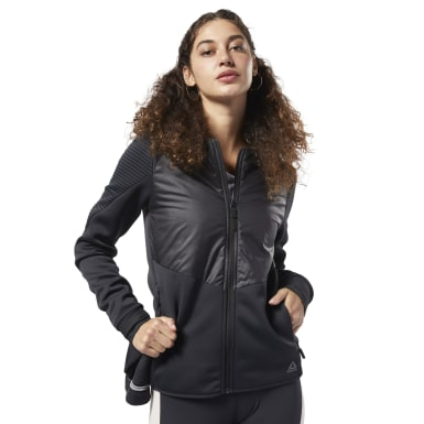 Women Training Black Thermowarm Deltapeak Padded Jacket