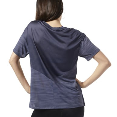 Women Fitness & Training Blue WOR ACTIVCHILL Tee