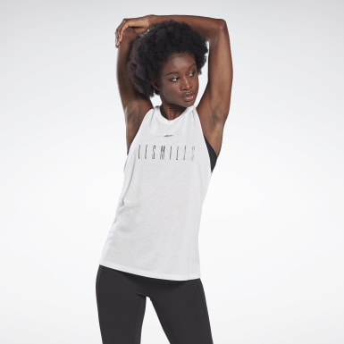 Women Studio White LES MILLS® Supremium Tank Top