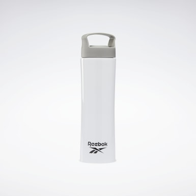 Running One Series Training Metal Water Bottle Weiß