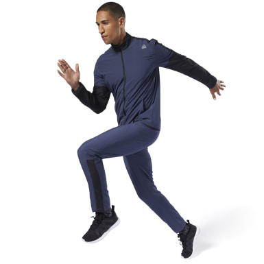 TE WOVEN TRACKSUIT Azul Hombre Fitness & Training